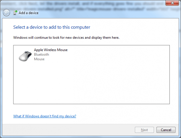 How To: Use the Apple Magic Mouse on Windows 7
