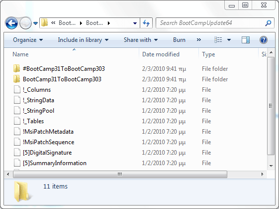 boot camp driver for the mouse in windows 10